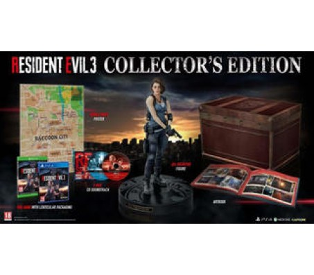 Resident Evil 3 Collectors Edition PS4