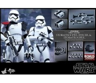 HOT TOYS 1/6 STAR WARS MMS335 FIRST ORDER STORMTROOPER OFFICER SET