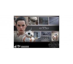 Hot Toys MMS337 Star Wars Rey and BB - 8