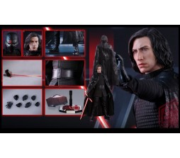 Hot toys THE LAST JEDI 8 KYLO REN MMS438 без коробки