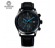 Мужские часы Ochstin BlackBlue Хронограф