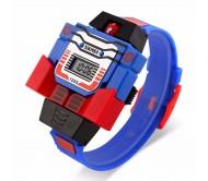 Skmei Transformers Blue