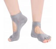 Носки для йоги Xianzuxiu Enjoy серые