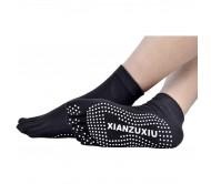 Носки для йоги Xianzuxiu закрытые черные