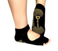Носки для йоги Yoga socks открытые черные