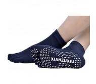 Носки для йоги Xianzuxiu закрытые синие