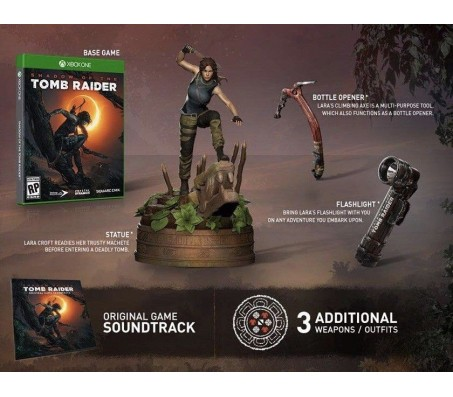 Коллекционное издание Shadow of the tomb raider ultimate edition Xbox One